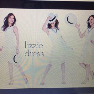 Cabi White Eyelet cotton dress